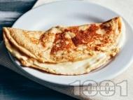 Палачинки с брашно от тапиока и амарант